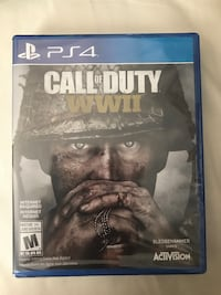 Ps4 Call of Duty WWII (sealed) Brampton