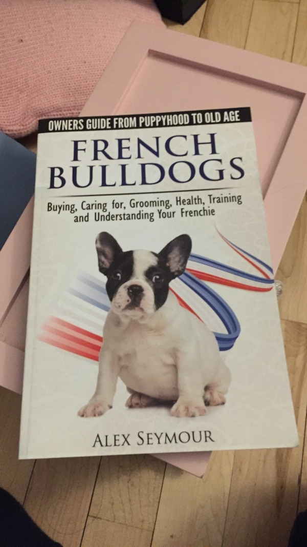 Used French Bulldogs By Alex Seymour Book For Sale In