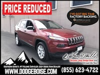 2017 Jeep Cherokee Sport 4x4 LOW MILES! ONE OWNER! Boise, 83709