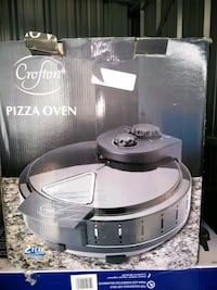 gray Crofton pizza oven box Canandaigua, 14424