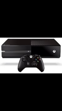 Black xbox one console with controller screenshot