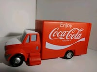 PLASTIC COCACOLA DELIVERY TRUCK