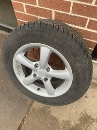 Rims and tires in great condition  Toronto, M9L 2S7