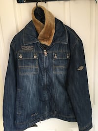 Men's Jeans jacket- Size Medium