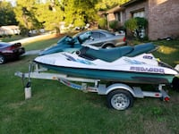 green and white personal watercraft West Columbia, 29172