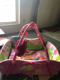 baby's pink and green activity gym Fort Wayne, 46806