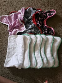 Cloth Diapers/inserts/cloth wipes