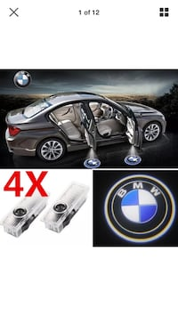 Bmw ghost shadow logo welcome led projector
