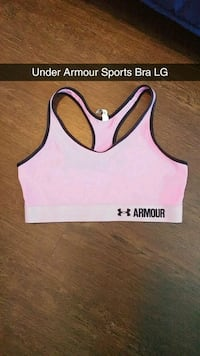 Pinky Purple Colour Under Armour sports bra