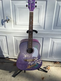 Disney by Wash burn acoustic guitar Sacramento, 95822