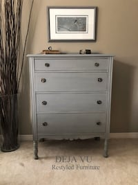 Lovely Antique Tallboy Dresser