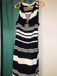 Black and white striped midi dress. Sz 2x Bealeton, 22712