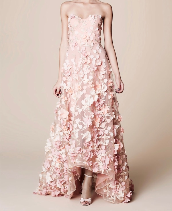 Used Marchesa Notte Pink Dress For In Orlando Letgo
