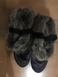 Snow furry Boots