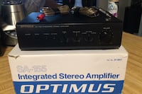 Optimus integrated stereo amplifier