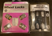 Wheel Locks - 2 sets Las Vegas, 89148
