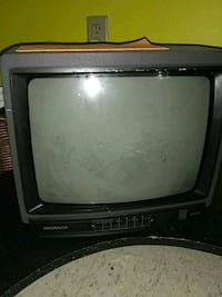 black CRT TV with remote Topeka, 66605