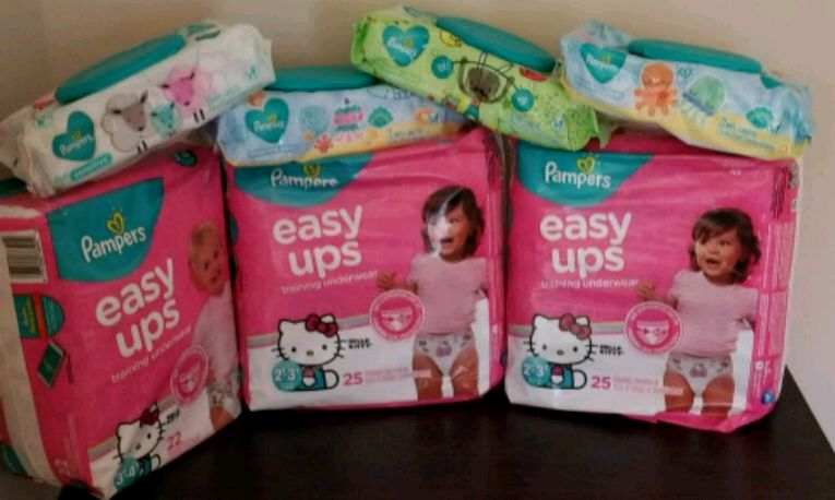 Pampers Easy up Used for sale in Mullica Hill - letgo