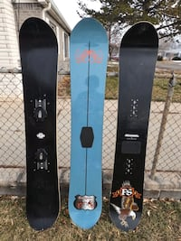163 Snowboards