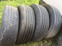 four vehicle tires Langley, V3A 8N6