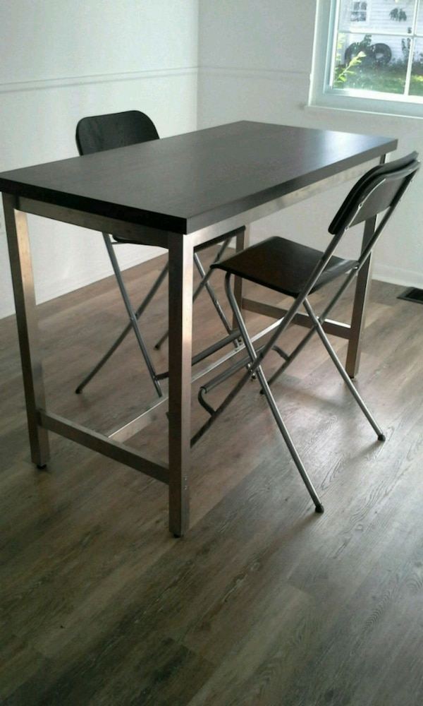 Fine Ikea Utby Dining Table 2 Chairs Ibusinesslaw Wood Chair Design Ideas Ibusinesslaworg