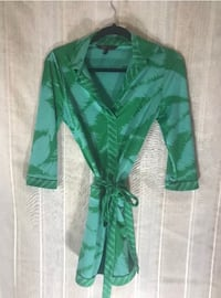 Small Bcbg dress worn once excellent condition.