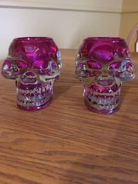 Skull Candle Holders Lincoln, L0R