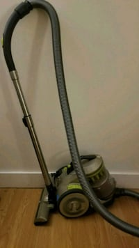 black and gray canister vacuum cleaner Vancouver, V6G 1K5