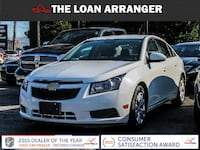 2014 Chevrolet Cruze with 108,629km and 100% approved financing Toronto