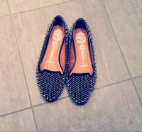 studded black campbell loafers Sandnes, 4319