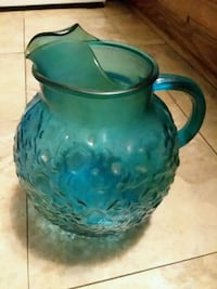 Vintage Aqua or Teal seemed pitcher Hagerstown, 21742