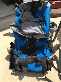 Brand new Blue and gray High Sierra hiking backpack Covington, 70433