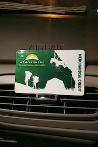 Atmosphere or sport check  card 200 $$ on it  Langley, V2Z 2L7
