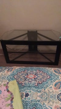 Glass tv stand  421 mi