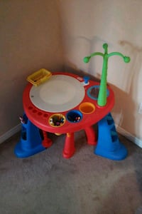 Red and blue activity table  Brampton, L6R 2W4