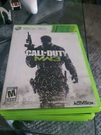 Call of Duty MW3 Xbox 360 game case Whittier, 90604