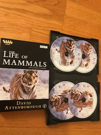 Life Of Mammals David Attenborough 4xDVD 2002 Stockholm, 120 68