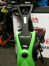 green and black Portland pressure washer Hagerstown, 21740