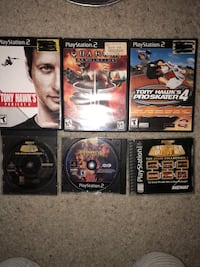 Ps2 games Concord, 94519