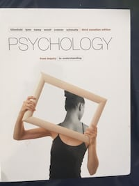 Psychology book Toronto, M4H 1K4