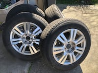 6 lugs rims with tires Surrey, V3W 1G7