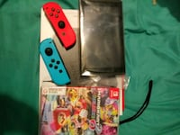 red Nintendo Switch with game case Clarksville, 37042