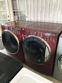 black front-load clothes washer and dryer set Oxnard, 93033
