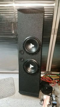 "JL Audio 10"" subs and JL Audio RD500 amp"