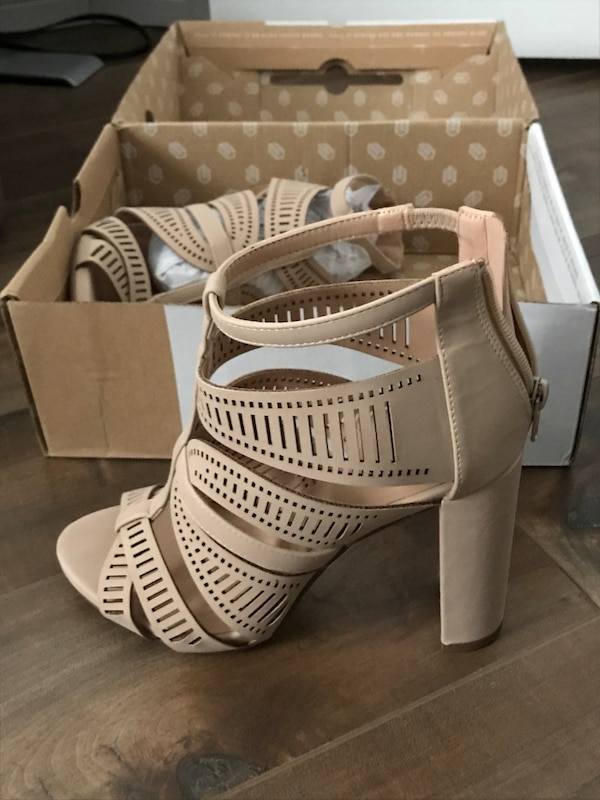 421be403404 Used Nude sandals size 7.5 for sale in Gatineau - letgo