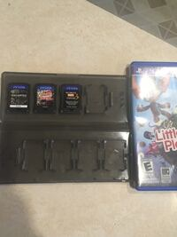 Psvita game the whole lot $35 games are marvel vs capcom 3, littlebigplanet, uncharted all in great condition ! Long Beach, 90805