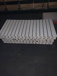 """Slot wall panels 23 x 47""""in perfect condition Glenview, 60025"""