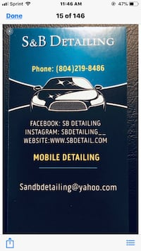 Car detailing Chesterfield