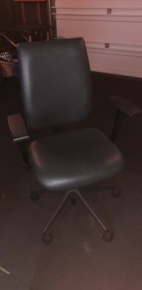 Black Leather Desk Chair Larkspur, 94904