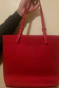 red leather Michael Kors tote bag Tucson, 85713